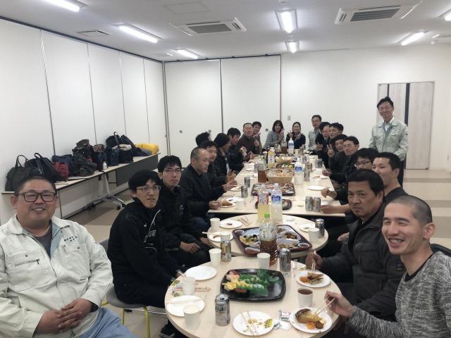 高砂塩化ビニール課 勉強会&懇親会