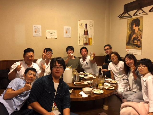 岡山第二営業所メンバーと懇親会を行いました。