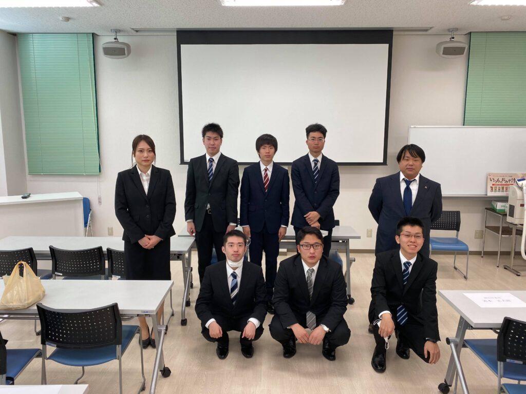 2020年新入社員入社式【岡山配属】