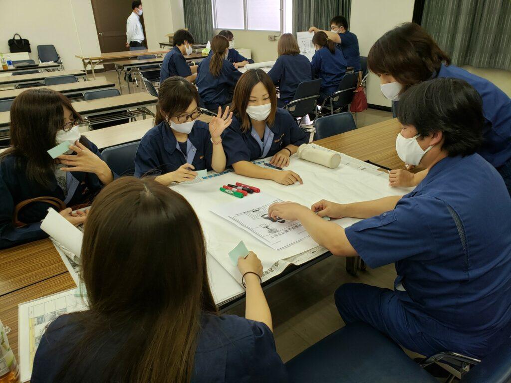 【滝野・社営業所】5S活動報告会・勉強会